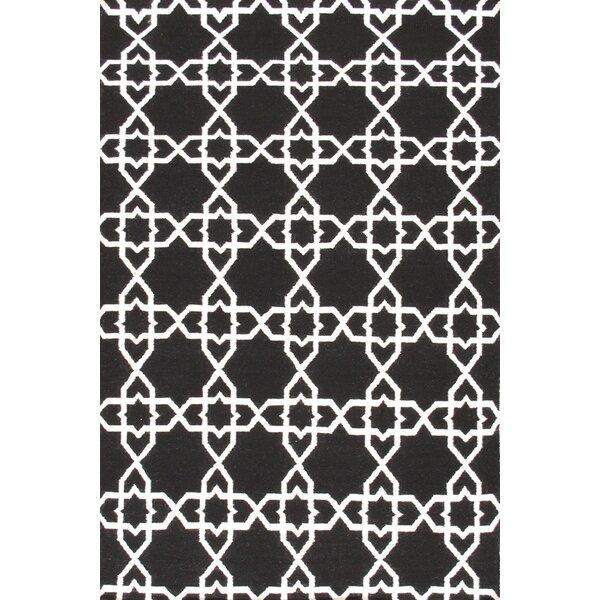 Sahara Black/White Area Rug by Pasargad