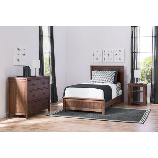 Farmhouse Twin Panel 3 Piece Bedroom Set by Delta Children