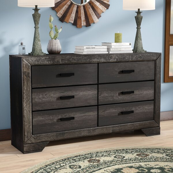 Katarina 6 Drawer Double Dresser by Mistana Mistana