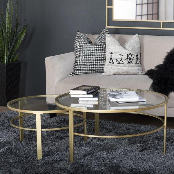 Sarcoxie 2 Piece Nesting Table by Brayden Studio