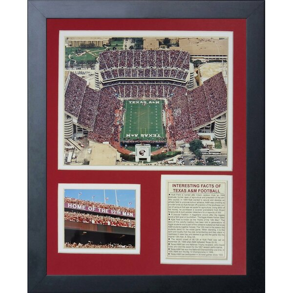 Texas A&M University Kyle Field Framed Memorabilia by Legends Never Die