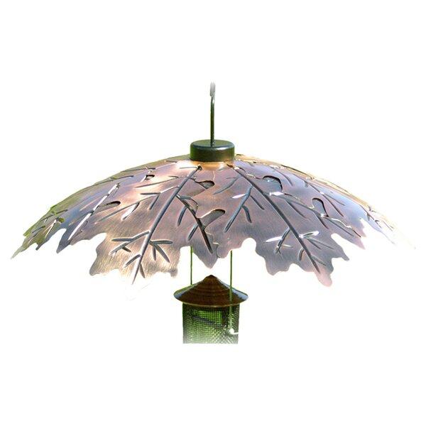18 Weather Shield Copper Oak Leaf Squirrel Baffle by Woodlink Audubon