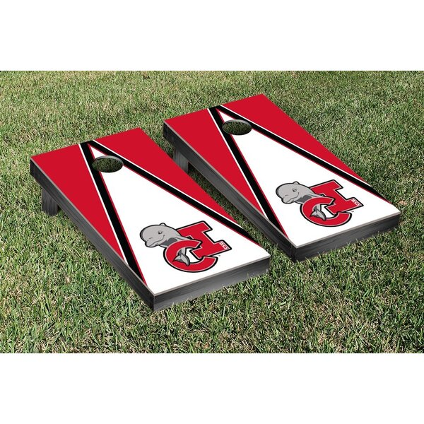 California State Channel Islands Dolphins Triangle Version Cornhole Game Set by Victory Tailgate