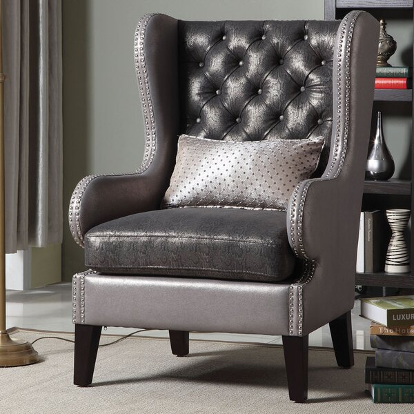 Roche Wingback Chair By Rosdorf Park