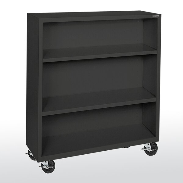 Mobile Book Cart by Sandusky Cabinets