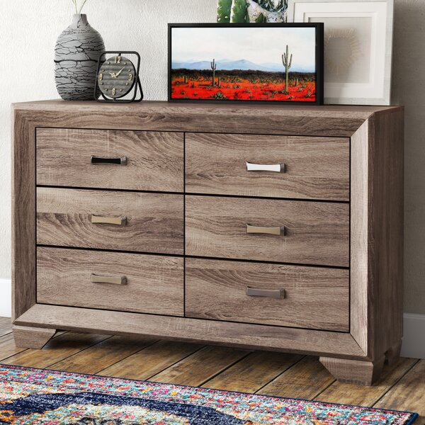 Barnsdall 6 Drawer Double Dresser by Trent Austin Design