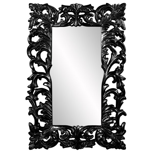 Rectangle Glossy Accent Mirror by Astoria Grand