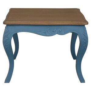 Madison Painted Wood End Table by August Grove