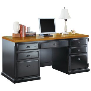 Reviews Southampton Onyx Executive Desk By Martin Home Furnishings