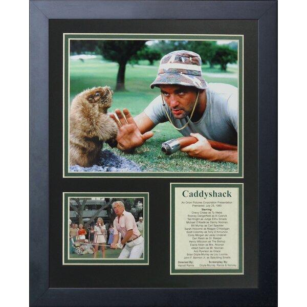Caddyshack Framed Memorabilia by Legends Never Die