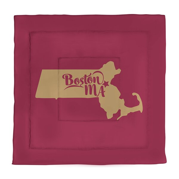 Boston Single Reversible Comforter