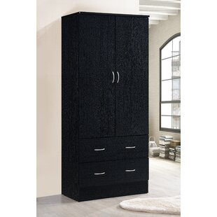 Wardrobe Armoire For Hanging Clothes Hanging Clothes Armoire | Wayfair