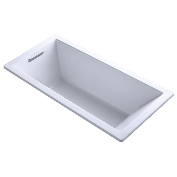 Underscore 66 x 32 Drop-in Soaking Bathtub by Kohler