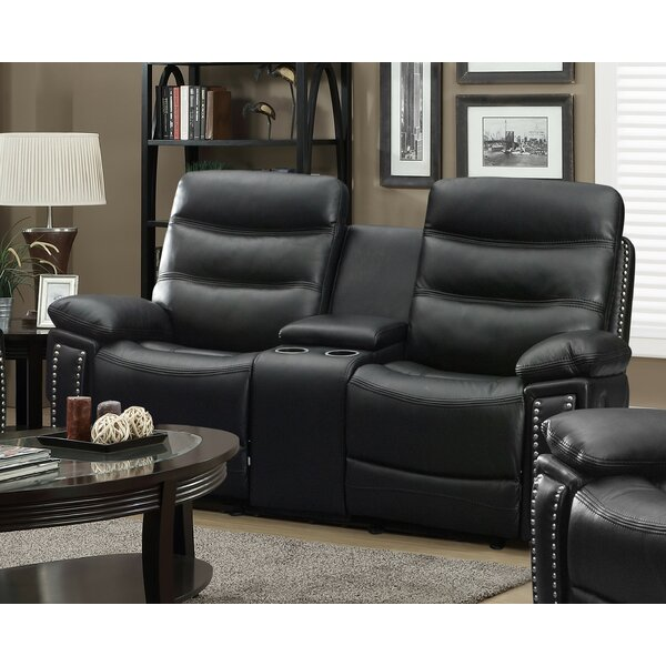 Courtland Reclining Loveseat by Winston Porter