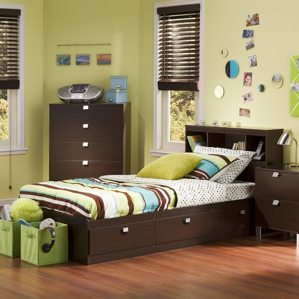 Spark Twin Mate's & Captain's Bed with Drawers by South Shore South Shore