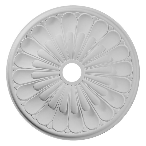 Elsinore 1/20H x 26 3/4W x 1 3/8D Ceiling Medallion by Ekena Millwork