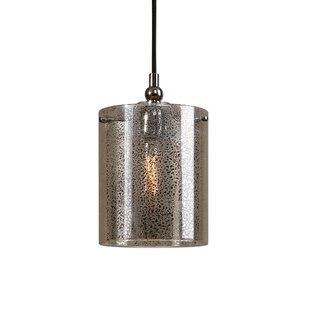 Shop For Hudson 1-Light Cylinder Pendant By Brayden Studio