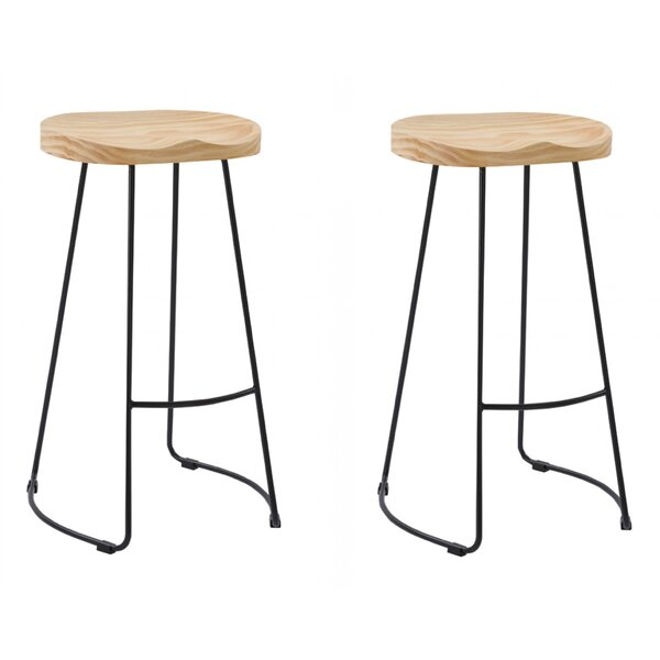Brophy Modern Bar Stool (Set of 2) by Union Rustic