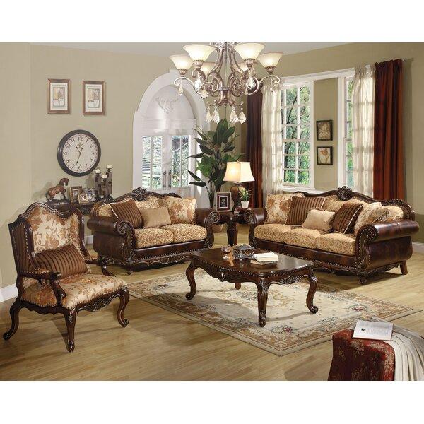Beardsley 3 Piece Living Room Set by Astoria Grand