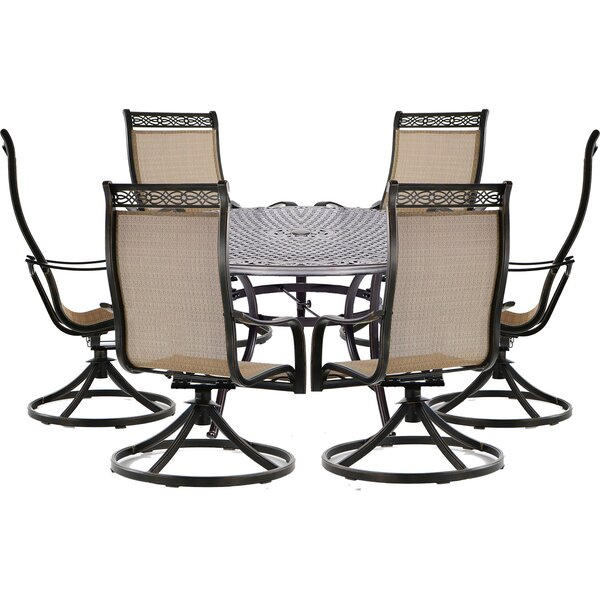 Buariki 7 Piece Dining Set by Fleur De Lis Living