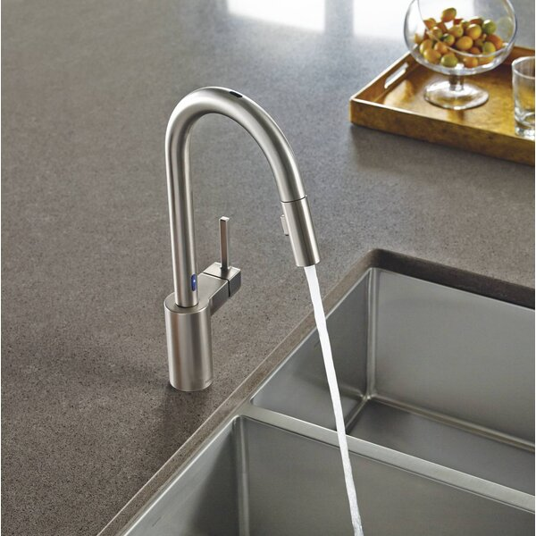 Align Pull Down Single Handle Kitchen Faucet with MotionSense™ by Moen