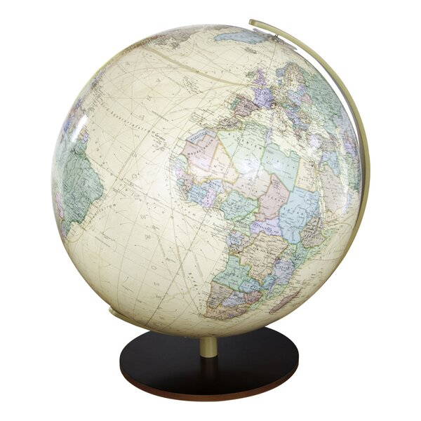 Salzburg Illuminated Desktop Globe by Columbus Globe