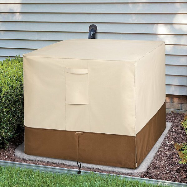 Units Square Heavy Duty Air Conditioner Cover by Rebrilliant