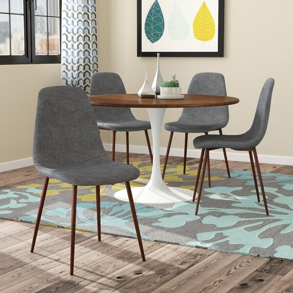 Modern Capasso Upholstered Dining Chair (Set Of 4) By Ivy Bronx Discount