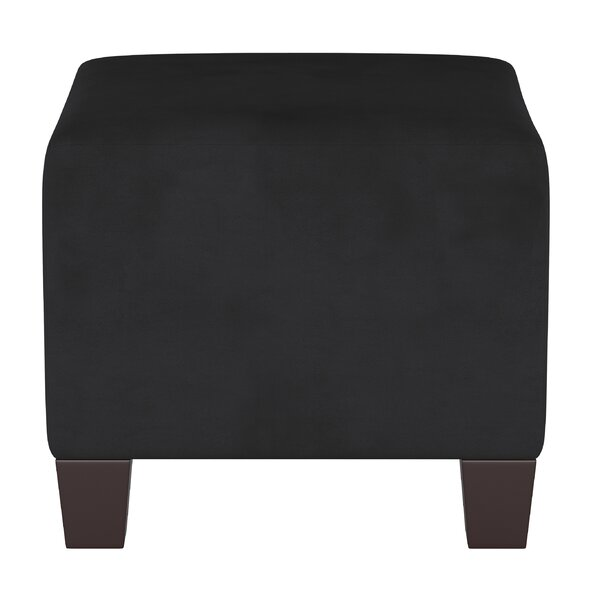 Cular Square Ottoman By Charlton Home Spacial Price