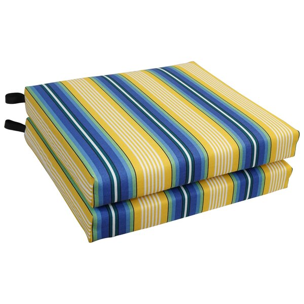 Chair Outdoor Seat Cushion (Set of 2)