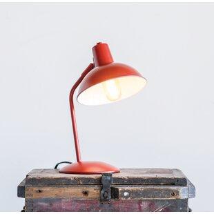 Read Reviews Flemings Metal 14 Desk Lamp By Wrought Studio