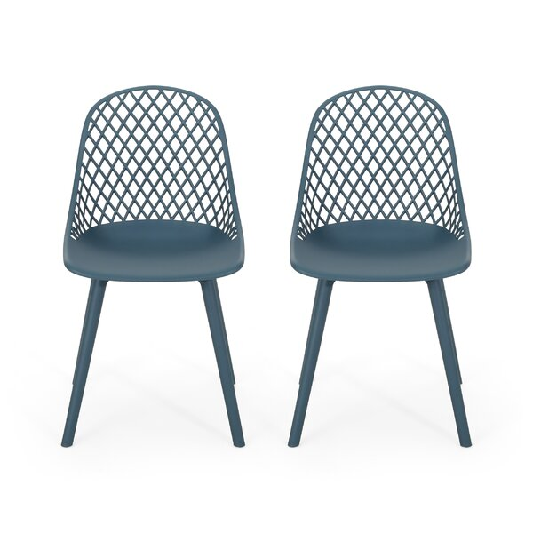 Kenyon Outdoor Patio Dining Chair (Set of 2) by Wrought Studio