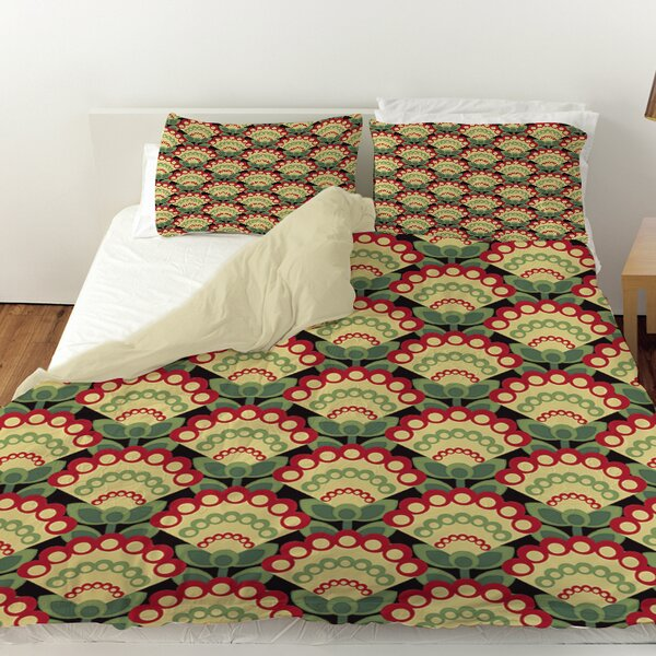 Tropical Breeze Patterns 35 Duvet Cover by Manual Woodworkers & Weavers