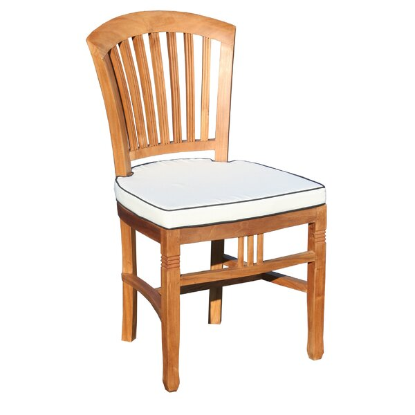 Bauman Teak Patio Dining Chair by Darby Home Co Darby Home Co