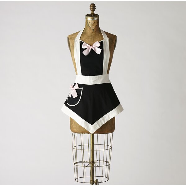 Sexy French Maid Veronica Apron by East Urban Home
