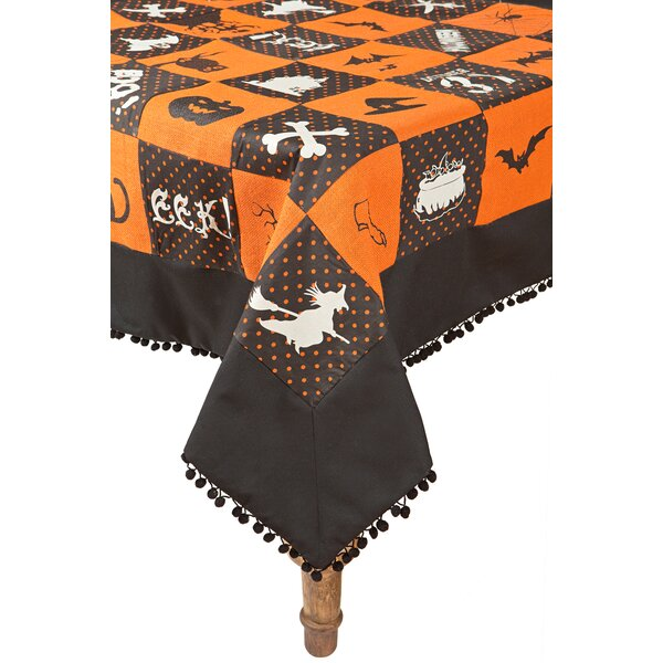 Halloween Patchwork Table Cloth by Xia Home Fashions