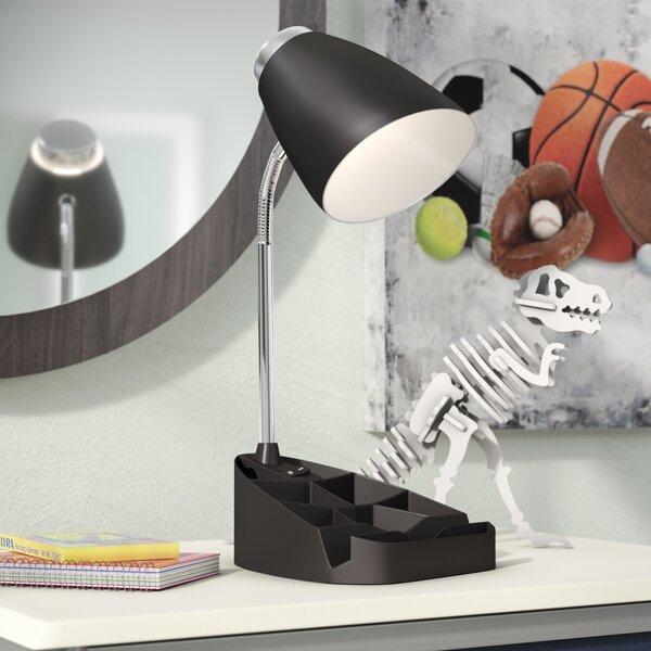 Zainab Gooseneck Organizer 15.35 Desk Lamp by Zipcode Design