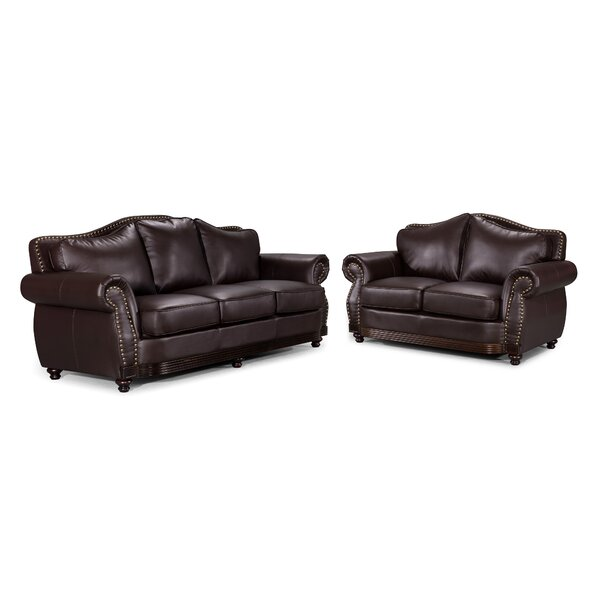 Scrolled 2 Piece Living Room Set by Container