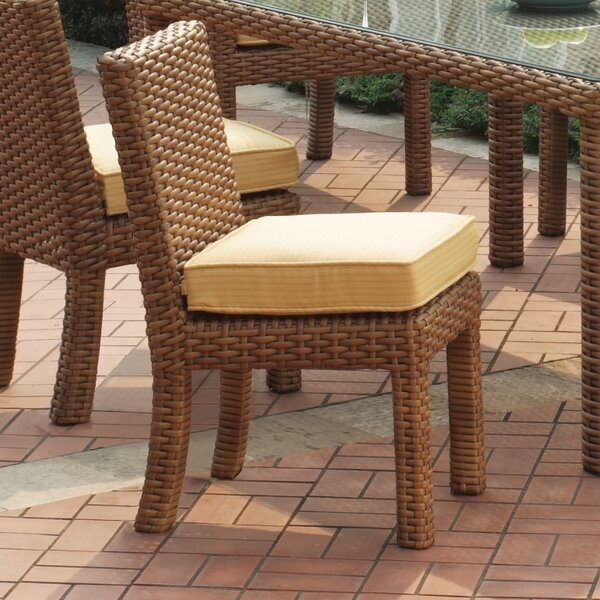 Java Dining Side Chair with Cushion by South Sea Rattan