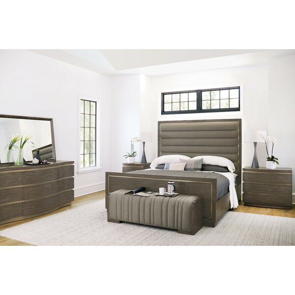 Profile Panel Configurable Bedroom Set by Bernhardt