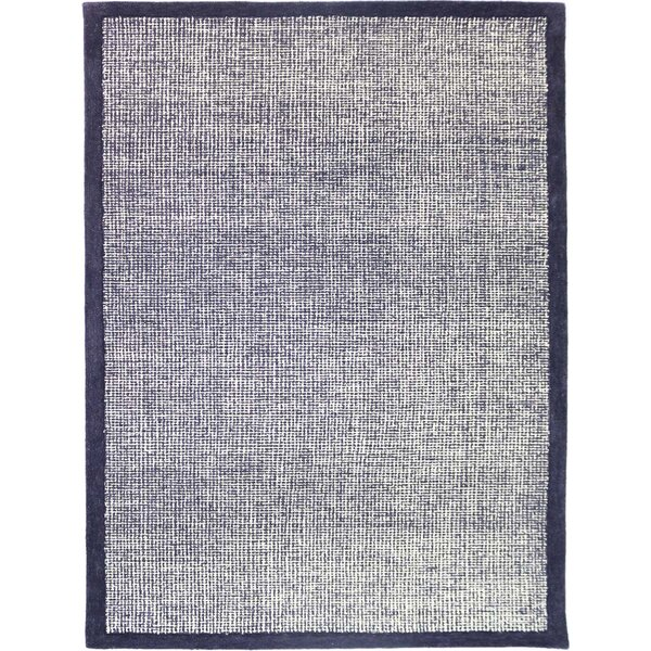 Caravelle Hand-Tufted Navy Area Rug by Gracie Oaks