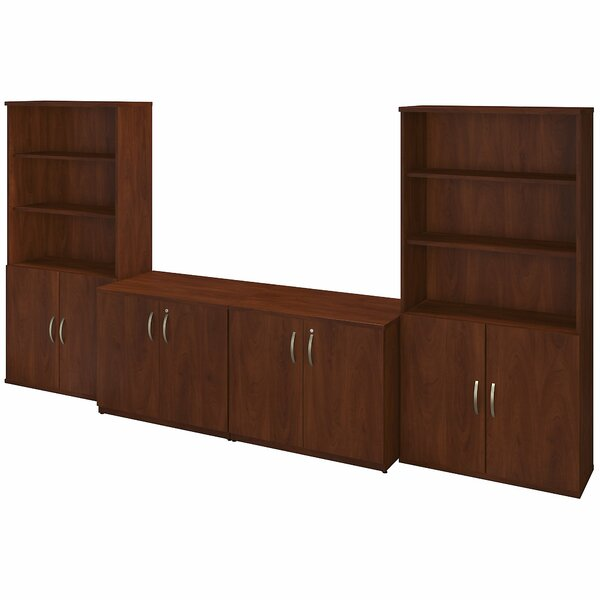 Series C Elite 8 Door Storage Cabinets with Bookcases by Bush Business Furniture