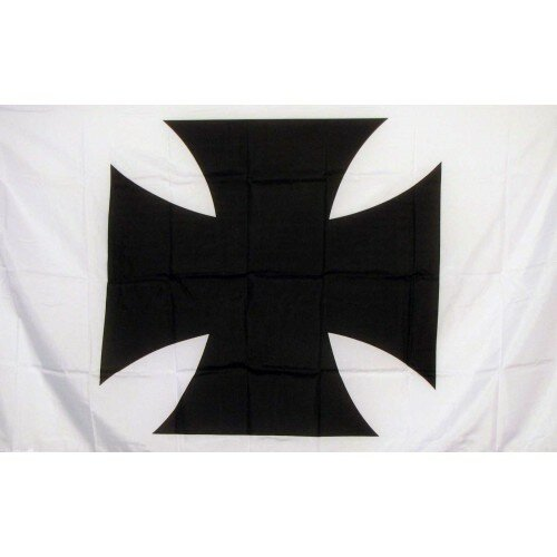 Maltese Cross Polyester 3 x 5 ft. Flag by NeoPlex