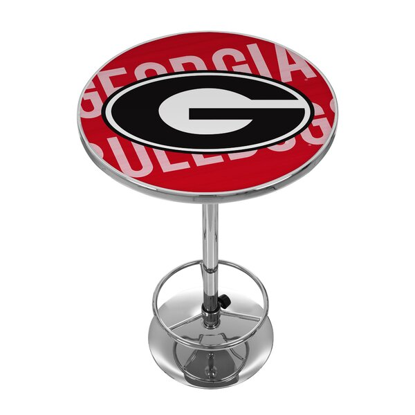 NCAA University of Georgia Pub Table by Trademark Global