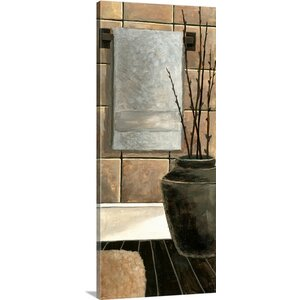 Modern Bath Panel II by Megan Meagher Painting Print on Canvas by Great Big Canvas