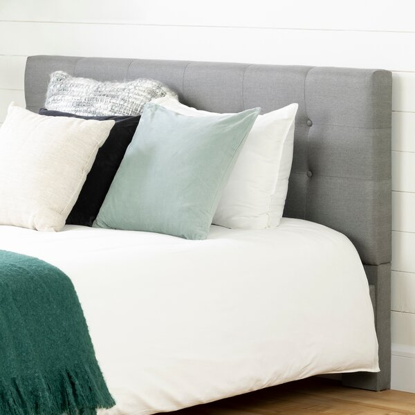 Fusion Queen Upholstered Panel Headboard by South Shore