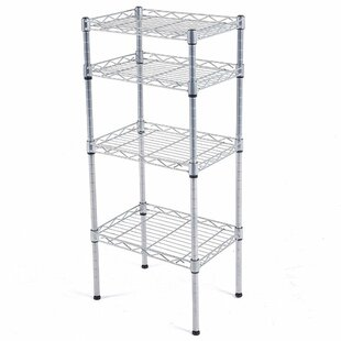 Shopping for Catalina 4-Tier Wire Shelved Steel Baker's Rack Compare prices