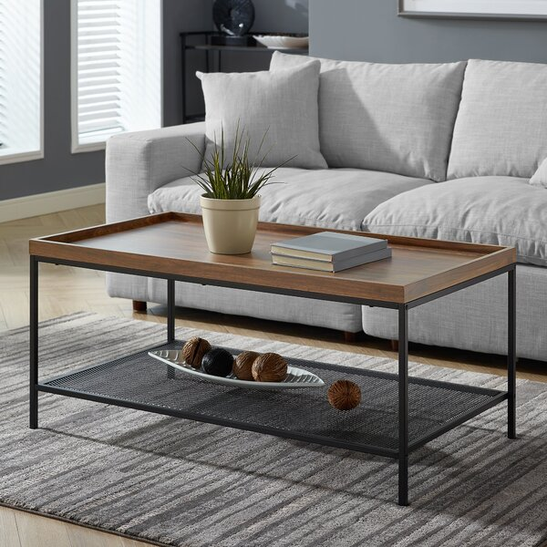 Poling Industrial Coffee Table by Williston Forge