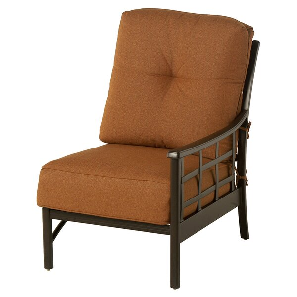 Merlyn Club Left Patio Chair by Fleur De Lis Living