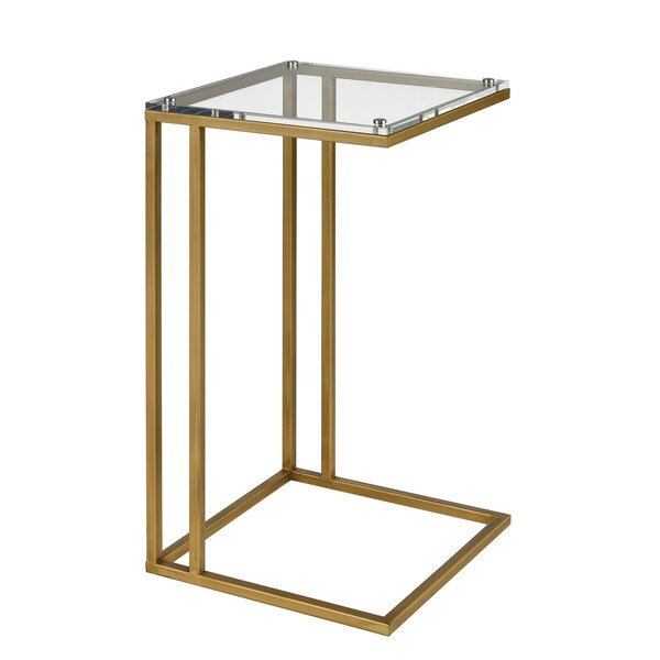 Giguere End Table by Everly Quinn Everly Quinn